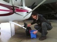 Lindsay Kitson, Maintenance after EAA Young Eagle flights
